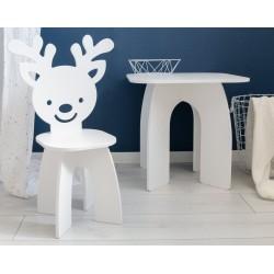 Stolik dla dzieci kwadratowy