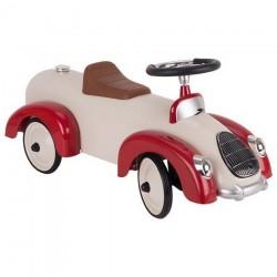 Auto Jeździk Kremowy z błotnikami