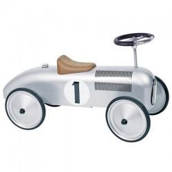 Jeździk Auto Wyścigowy Srebrny
