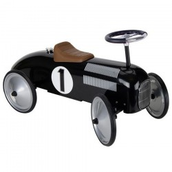 Jeździk Auto Wyścigowy Czarny