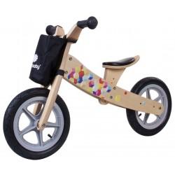 Rowerek biegowy drewniany 2w1 Twist Cubic