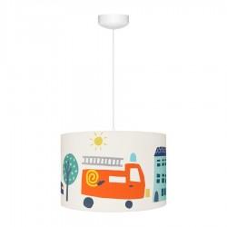 Lampa wisząca dla dzieci CITY TRANSPORT