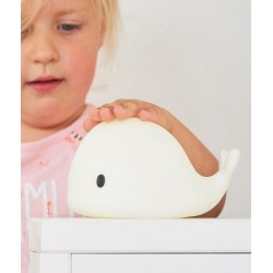 Lampka nocna LED Wieloryb Moby