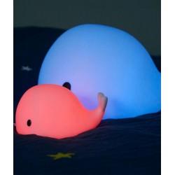 Lampka nocna LED Wieloryb Moby Medium