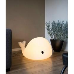Lampa LED Wieloryb