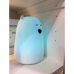 Lampka Miś Led duży - niebieski
