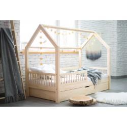 Łóżko Domek Pioli z szufladą