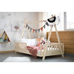 Łóżko Tipi z barierkami