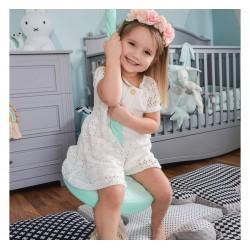 Huśtawka dla dzieci Ring Swing - Soft Pink