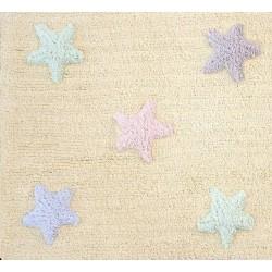 Dywan dziecięcy Tricolor Star Vanilla