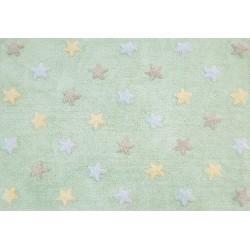 Dywan dziecięcy Tricolor Star Soft/Mint