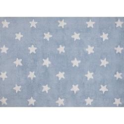 Dywan dziecięcy Blue Stars White
