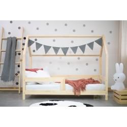 Łóżko Domek Barierra w stylu skandynawskim