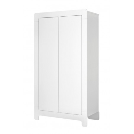 Szafa 2-drzwiowa biała Moon Pinio