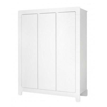 Szafa 3-drzwiowa biała Moon Pinio