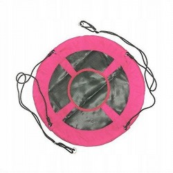 Huśtawka bocianie gniazdo różowe 100cm