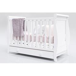 Łóżeczko dla dziecka Misza 120 x 60 z szufladą