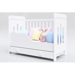 Łóżeczko dla dziecka Zuza 120 x 60 z szufladą