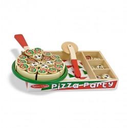 Pizza do krojenia dla dzieci drewniana