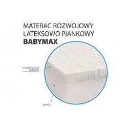 Materac piankowo-lateksowy Baby Max