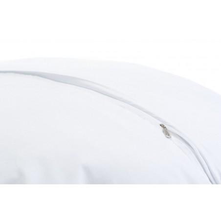 Huśtawka Kokon Biały z falbanką