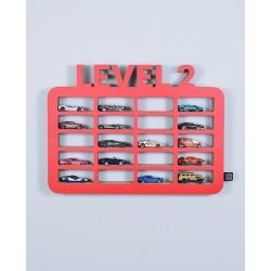 Półka na samochody LEVEL2 - Wybierz kolor