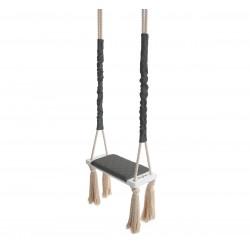 Huśtawka Tapicerowana WoodSwing – Dark Gray