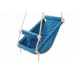 Kołysko-Huśtawka dla Dzieci Qalma Basic - Aqua Turquoise