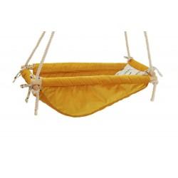 Kołysko-Huśtawka dla Dzieci Qalma Basic - Mustard