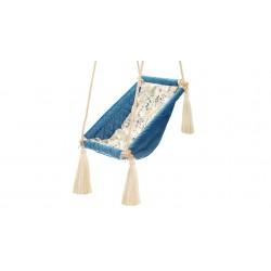 Kołysko-Huśtawka dla Dzieci Qalma Plus - Aqua Turquoise