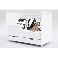 Łóżeczko dla Dziecka z szufladą Lilia 120x60