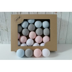COTTON BALLS PASTEL CANDY