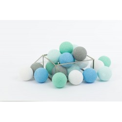 COTTON BALLS MINT PASTEL