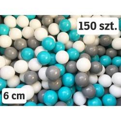 Plastikowe piłeczki do suchego basenu- 150 szt.