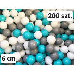 Plastikowe piłeczki do suchego basenu- 200 szt.