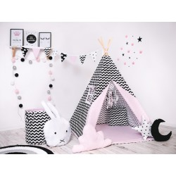 Namiot Tipi Pudrowy design