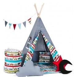 Namiot Tipi Autkowy Rajd z okienkiem i matą