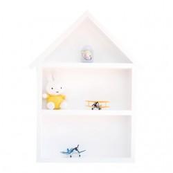 Domek półka - duży - biały