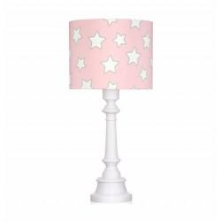 Lampa dla dzieci PINK STARS