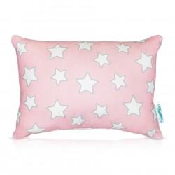 Poduszka ozdobna PINK STARS & CHEVRON MINT