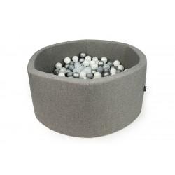 Suchy basen z kulkami ( 250 piłeczek ) - Koło Szary