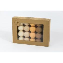 Cotton Balls - Świecące kule - Golden Autumn