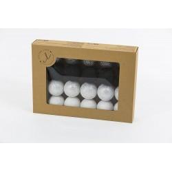 Cotton Balls - Świecące kule - Silver Dream