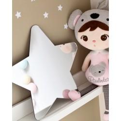 LUSTRO dekoracyjne Gwiazdka – lustra dekoracyjne na ścianę