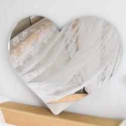 LUSTRO dekoracyjne Serduszko – lustra dekoracyjne na ścianę