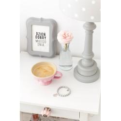 Lampa stojąca dla dzieci LOVELY DOTS GREY