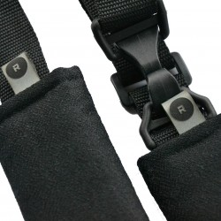 ROLLERSY Black - kółka z uchwytem do fotelików samochodowych 0-13 kg