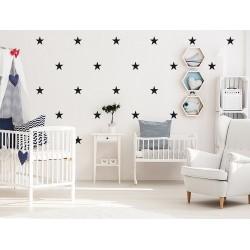 Naklejka na ścianę - Gwiazdki małe