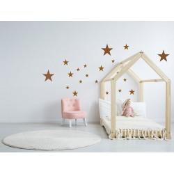 Naklejka na ścianę - Gwiazdki komplet