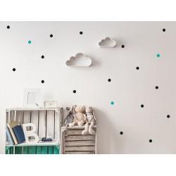 Naklejka na ścianę - Kropki małe